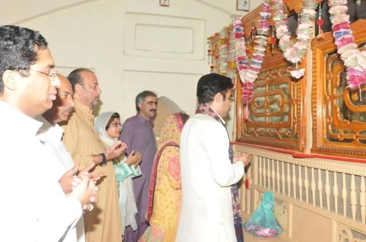 With Chairman PPP Bilawal Bhutto Zardari in Larkana, Sindh