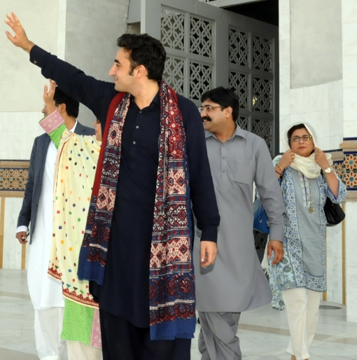 With Chairman PPP Bilawal Bhutto Zardari