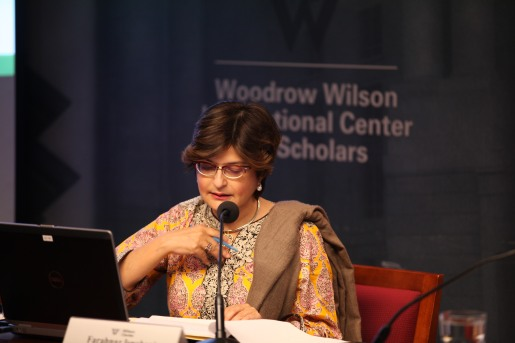"Speaking on ""Religious Intolerance in Pakistan and the Plight of Religious Minorities"" at Wilson Center"