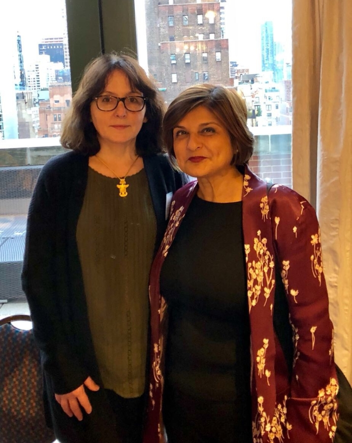 Ms. Farahnaz Ispahani with Dr Dubravka Simonovic, the UN Special Rapporteur on Violence against Women.